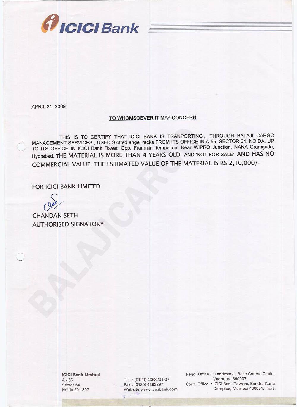 Complaint Letter Format Icici Bank.  Complaint Letter Format Icici Bank Balaji Trans Carriers Clients Testimonials Sles From Sle complaint letter format icici bank 28 images pune home
